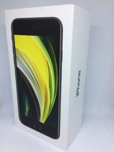 iPhone 2020 SE krabice